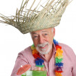 Tropical Senior Man — Stock Photo