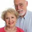 Senior Couple Together Vertical — Stock Photo #6628590