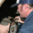 Stock Photo: Auto Mechanic At Work