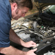 Auto Mechanic Working — 图库照片