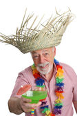 Tropical Senior Man — Stockfoto