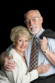 Stock Photo of Affectionate Senior Couple — Stock Photo
