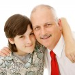 Royalty-Free Stock Photo: Father and Son Together