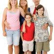 Royalty-Free Stock Photo: Typical American Family