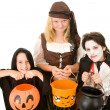 Royalty-Free Stock Photo: Halloween Candy Please