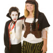 Halloween Kids - Brother and Sister — Stock Photo #6652099