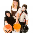Royalty-Free Stock Photo: Halloween Kids Want Candy