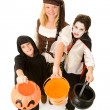 Stok fotoğraf: Halloween Kids Want Candy