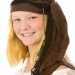 Pretty Pirate Portrait — Stock Photo #6652130