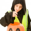 Safe Trick Or Treating — Stock Photo