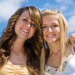 Beautiful Teen Sisters — Stockfoto