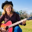 Country Western Musician — Stock Photo
