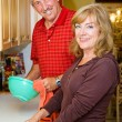 Couple Shares Chores — Stock Photo #6652299