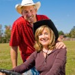 Good Looking Farm Couple — Stock Photo #6652327
