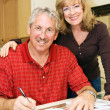Mature Couple - Financially Secure — Stock Photo