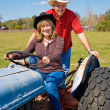 Mature Couple on Farm — Stock Photo