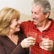 Romantic Mature Couple — Stock Photo #6652425