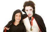 Halloween Kids - Costumed Boys — Stock Photo