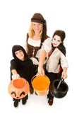 Halloween Kids Want Candy — Stock Photo