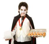 Halloween Trickster — Stock Photo