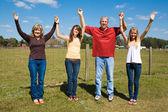 Family Praise & Joy — Stock Photo