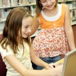 School Library - Fun Online — Stock Photo