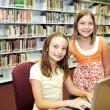 School Library - Technology in Class — Stock Photo