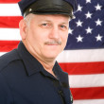 American Policeman — Stock Photo