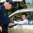 Police - Drunk Driver Guilty - Stock Photo