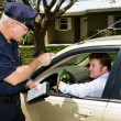 Police - Drunk Driving - Stock Photo