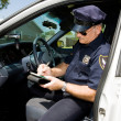 Police - Time for a Ticket — Stock Photo