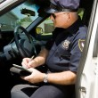Police - Writing Citation — Stock Photo