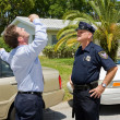 Sobriety Test - Skeptical — Stock Photo