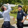 Stock Photo: Sobriety Test - Skeptical