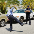 Traffic Stop - Sobriety Test — Stock Photo #6667963