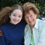 Grandma & Granddaughter — Stock Photo #6668536