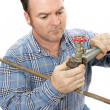 Plumber Working — Stock Photo #6669367