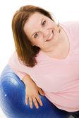 Pilates Portrait — Stock Photo