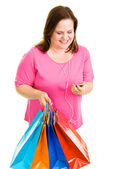 Shopping and Tunes — Stock Photo