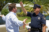 Field Sobriety Test — Stock Photo