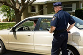 Police - Pulled Over — Stock Photo