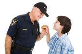Police Community Relations — Stock Photo