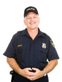 Police Officer Friendly — Stock Photo
