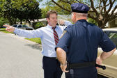 Roadside Sobriety Test — Stock Photo