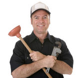 Friendly Plumber — Stock Photo