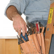 Stock Photo: Electrician's Tools