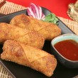 Crispy Chinese Egg Rolls - Foto de Stock  