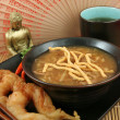 Hot & Sour Soup With Shrimp — Stock Photo