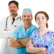 Royalty-Free Stock Photo: Confident Medical Team