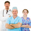 Likeable Hospital Medical Staff — Stock Photo